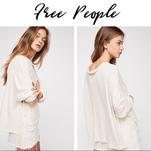 NWT Free People Pullover Sweater Top